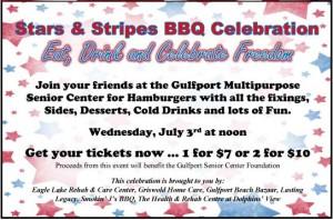 Stars & Stripes BBQ July 3rd