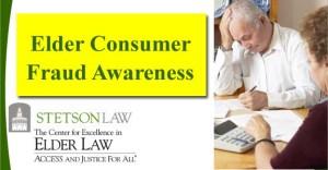 Elder Consumer Fraud Awareness Seminar August 7th
