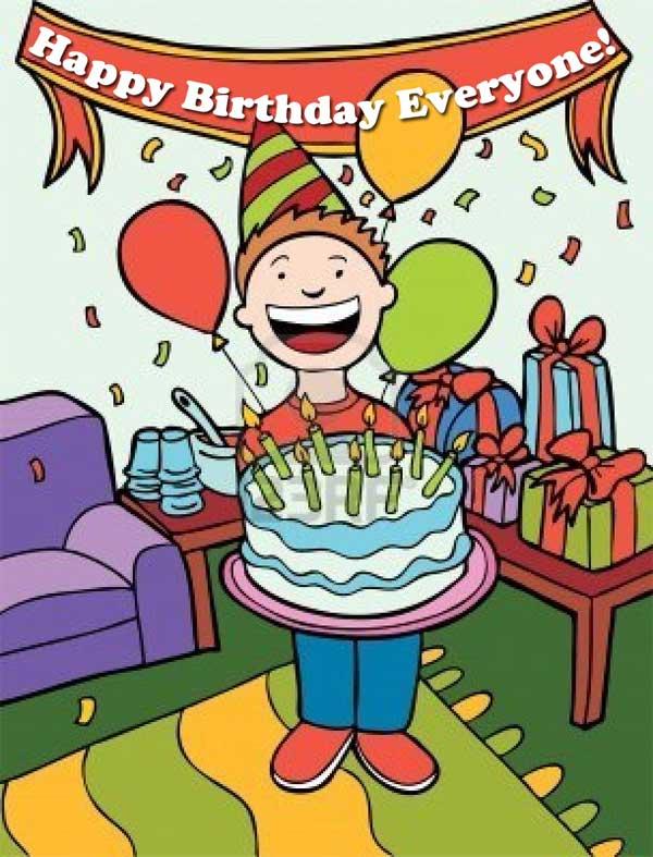 Birthday Party at the Senior Center