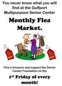 First Friday Flea Market at the Center