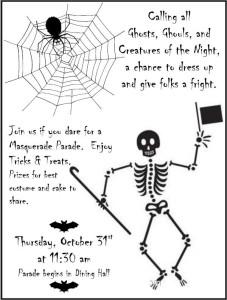 Masquerade Parade October 31, 2013