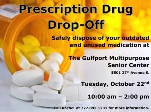Prescription Drug Drop-Off October 22, 2013