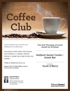 Coffee Club at the Gulfport Senior Center Snack Bar