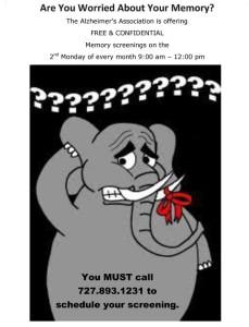 Monthly-Memory-Screening