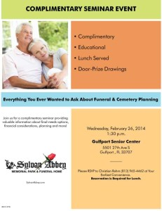Funeral and Cemetery Planning