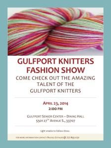 Knitters Fashion Show