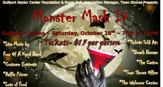 Have Fun & Support Your Local Seniors at Monster Mash
