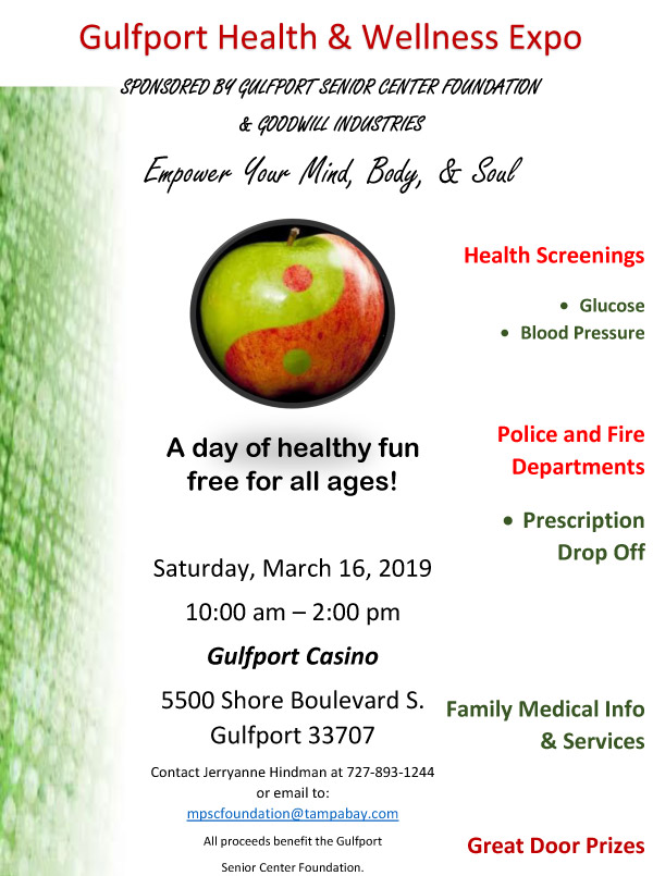 Health & Wellness Expo Coming Up March 16 :